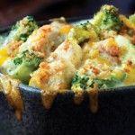 Рецепта за Броколи със сметана и топено сирене