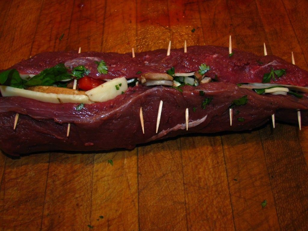 Wood Fired Stuffed Venison Backstrap, How To Smoke Venison Backstrap, How  To Cook Deer