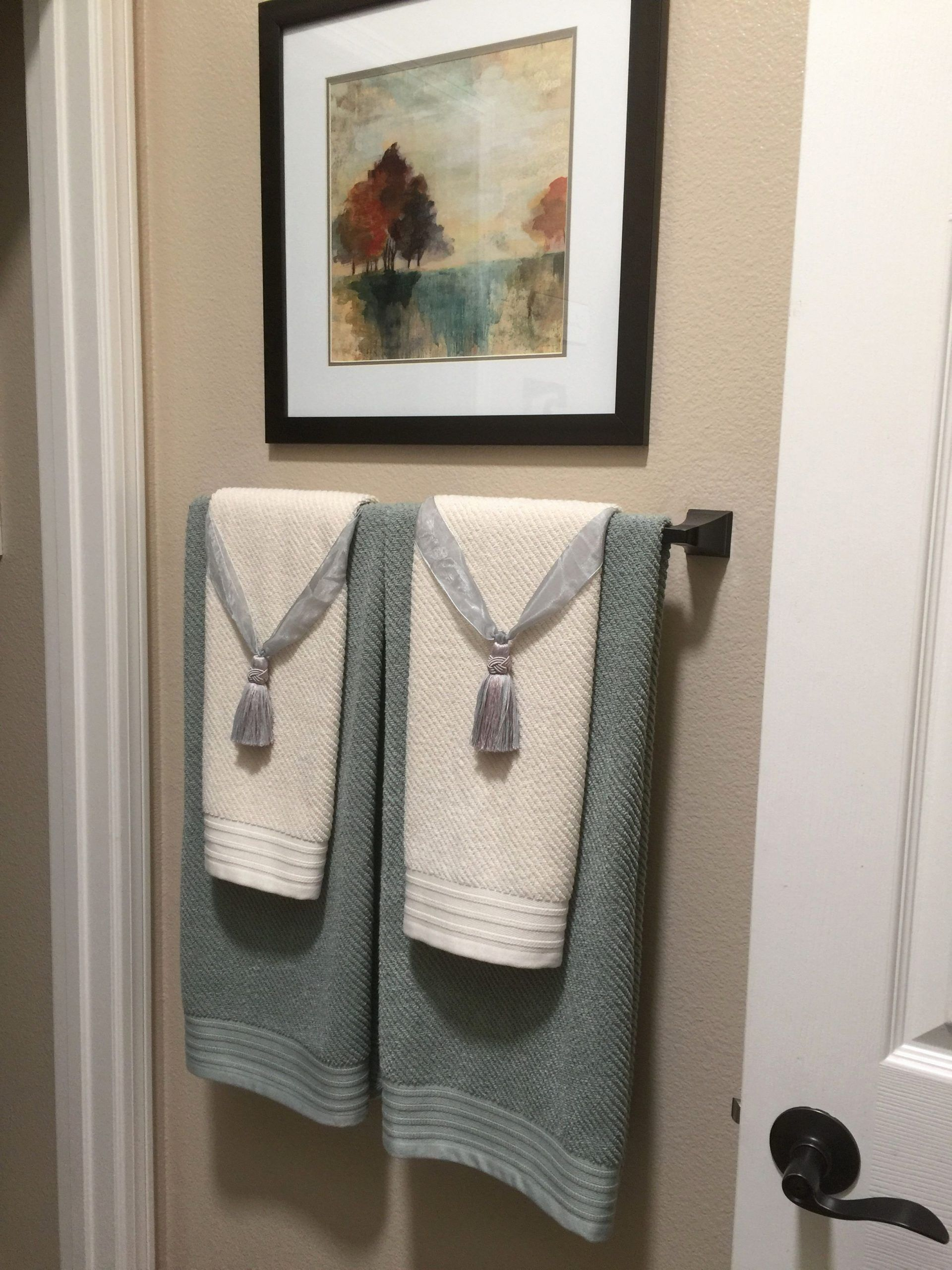 Bathroom Towel Decorating Ideas Inspirational Exclusive Diy Bathroom Towel Decoration Ideas Live Enhance Bathroom Towel Decor Bathroom Towels Decorative Towels
