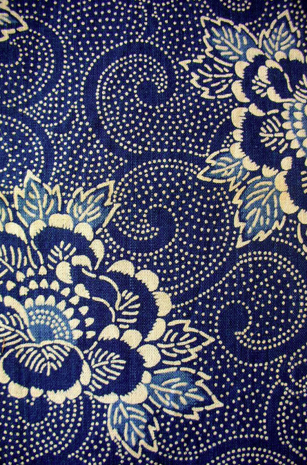 Speckled white pattern on dark blue background, lovely