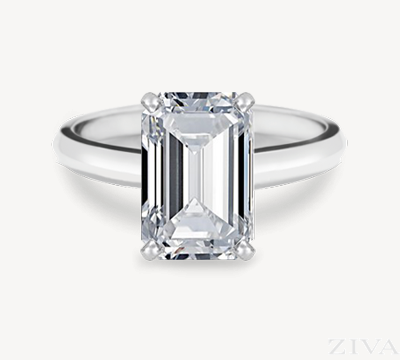 Emerald Cut Engagement Rings Are Celebrity Favorites | Ziva Jewels .
