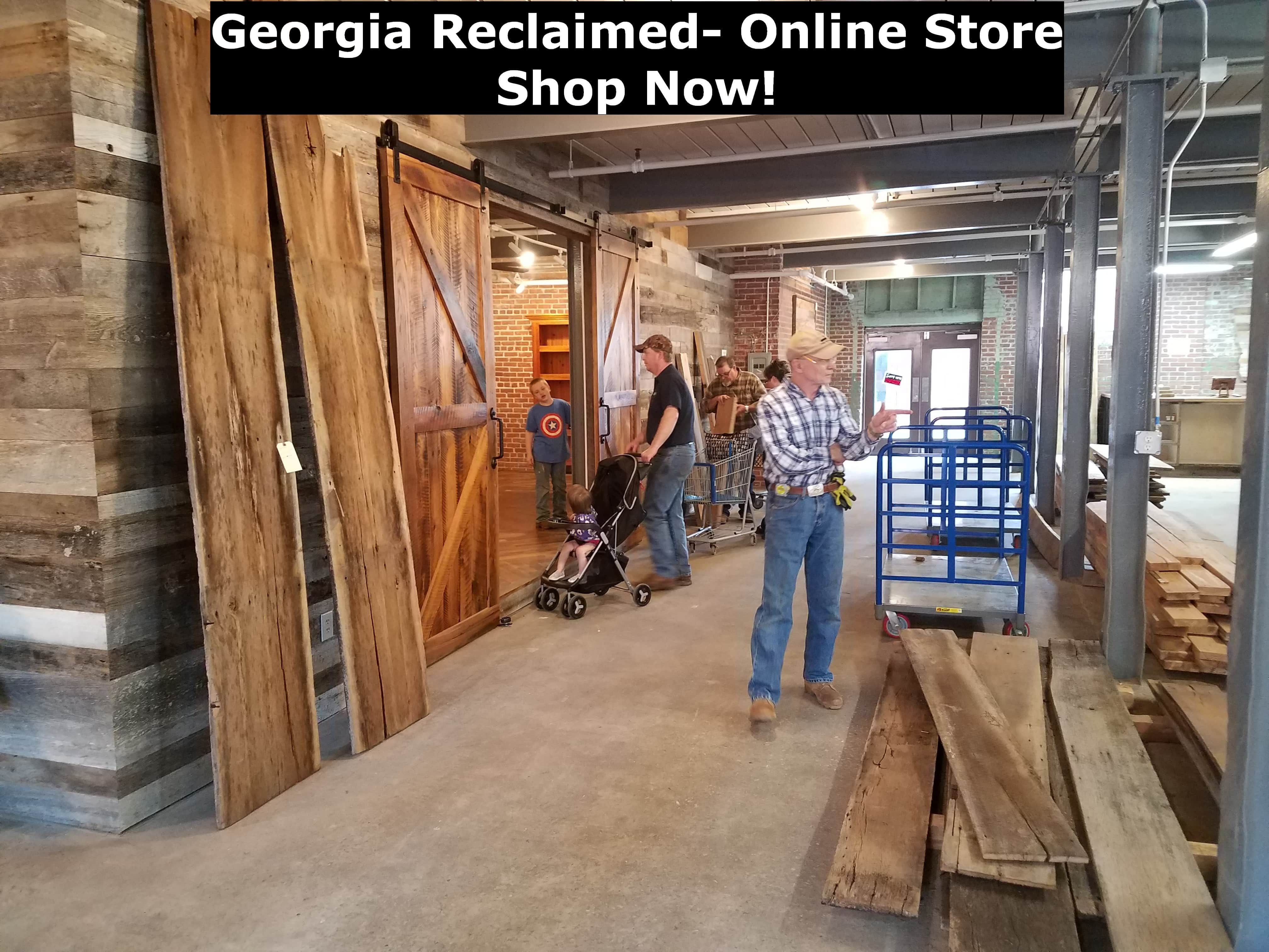 Georgia Reclaimed Wood Products - Barnwood, Beams, and ...