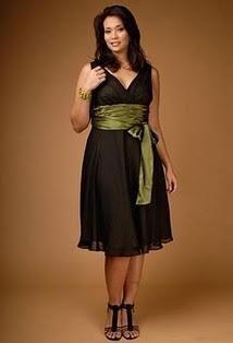 Como elegir un vestido de noche para gorditas