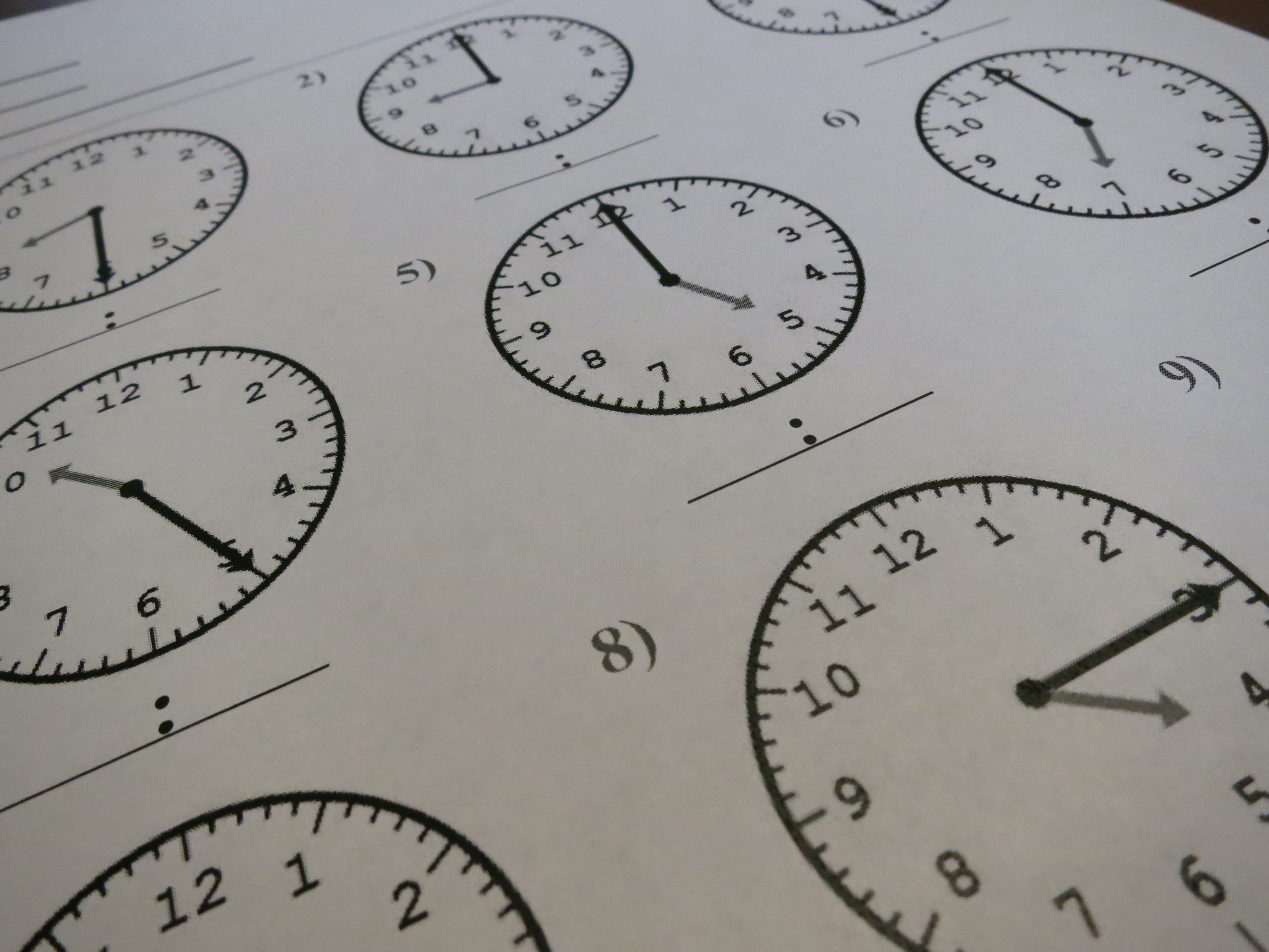 Use The Time Tool To Create Lots Of Different Types Of