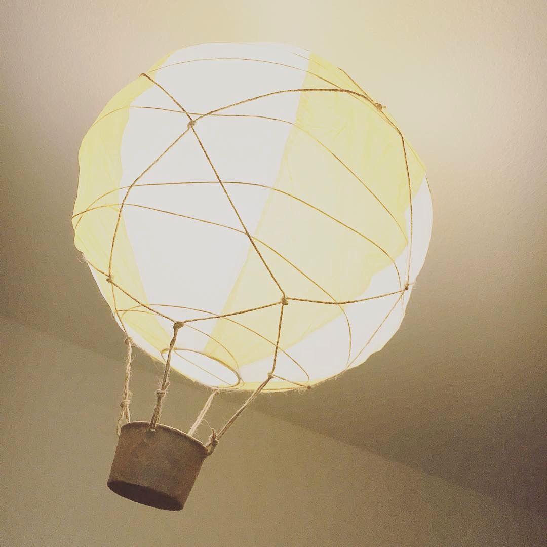 Alloon Light Ikea Regolit Pendant Lamp Shade White Instagram Sarahelenamo Senaste Projektet I Barnens Rum Lam Mit Bildern Ikea Hacks Lampenschirm Papier