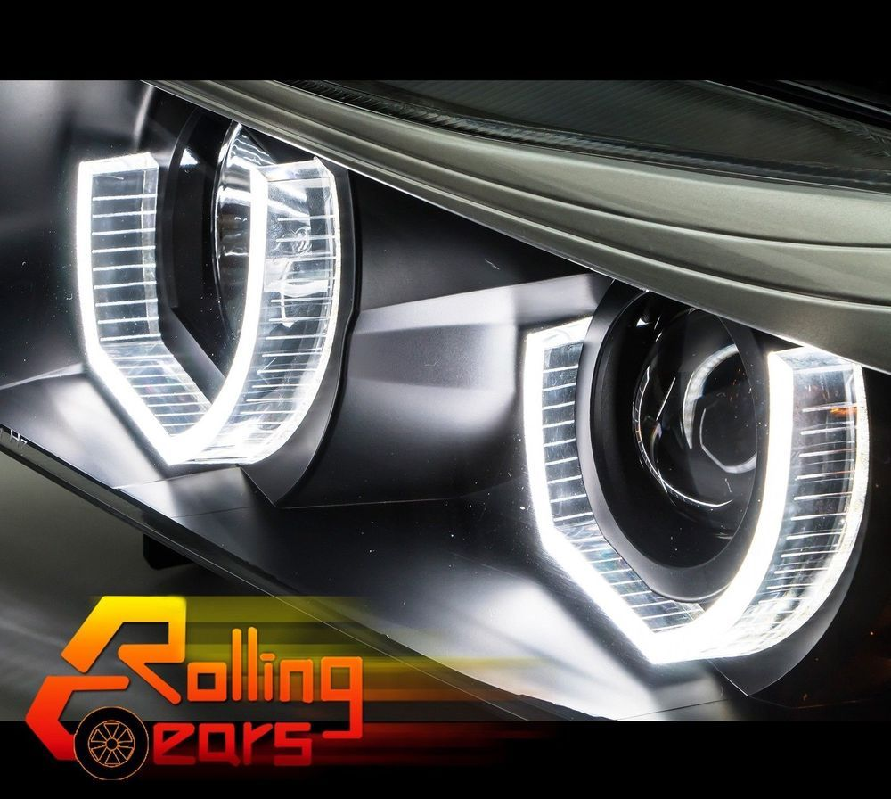 Bmw M4 Dtm Racing Car Type Look 3d U Shape Smd Led Angel Eyes Halo
