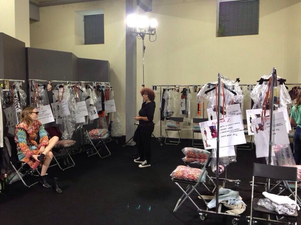 MILANO | MODA DONNA P|E_14 | MISSONI   ---    Backstage ..