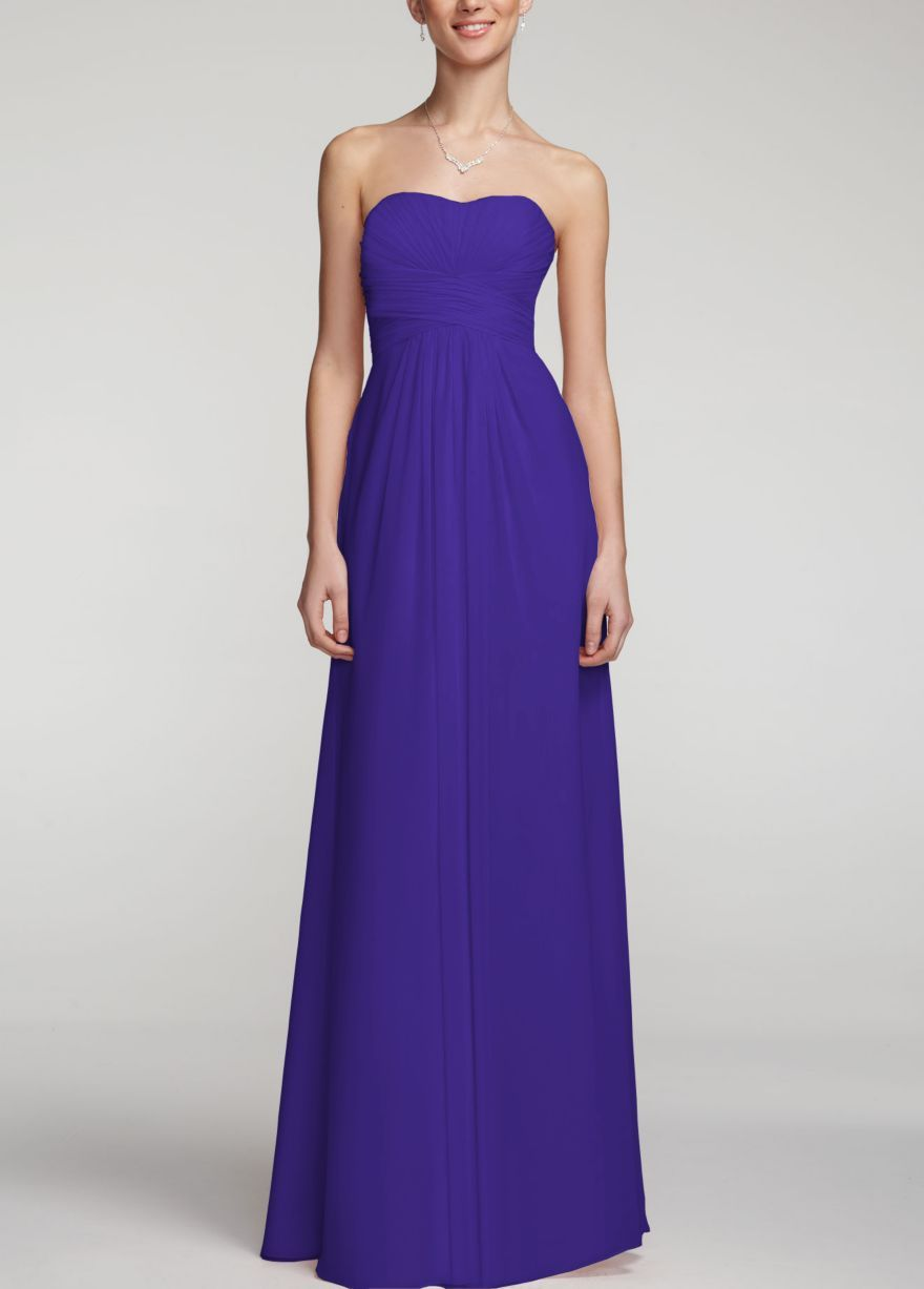 Bridesmaid dress in royal purple | Marry Me | Pinterest | Wedding ...