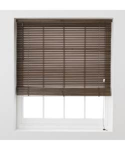 Buy Wooden Venetian Blinds 90 x 160cm - Walnut at Argos.co ...