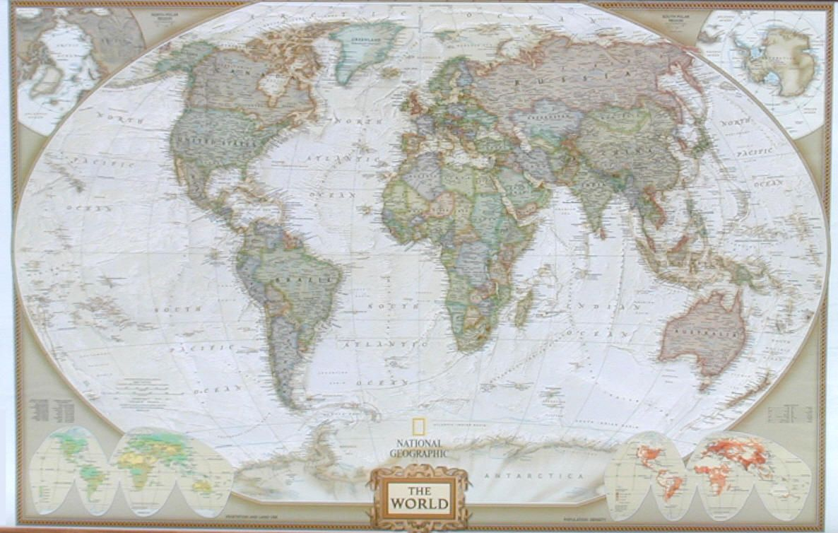Digital download map etsy most detailed large world map huge map national geographics world map by feet because walls are large world map sepia gumiabroncs Image collections