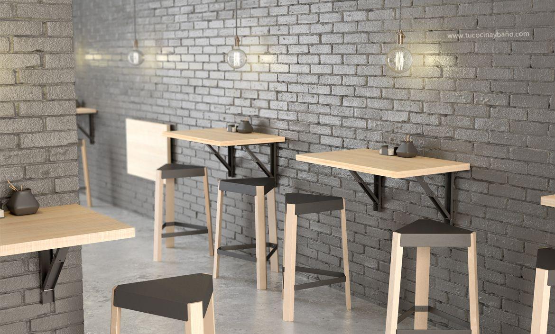 Mesa cocina barra plegable   tu Cocina y Baño   mesas sillas y ...
