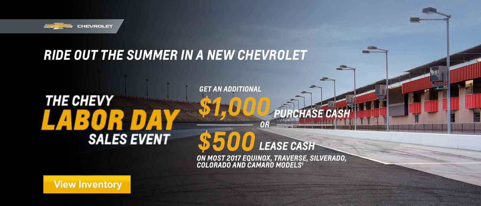 Labor Day Sales Event Chevrolet Chevrolet Dealership Camaro Models