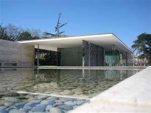 Mies Van Der Rohe Design Philosophy.Barcelona Pavilion Designed By My Favorite Architect Mies Van