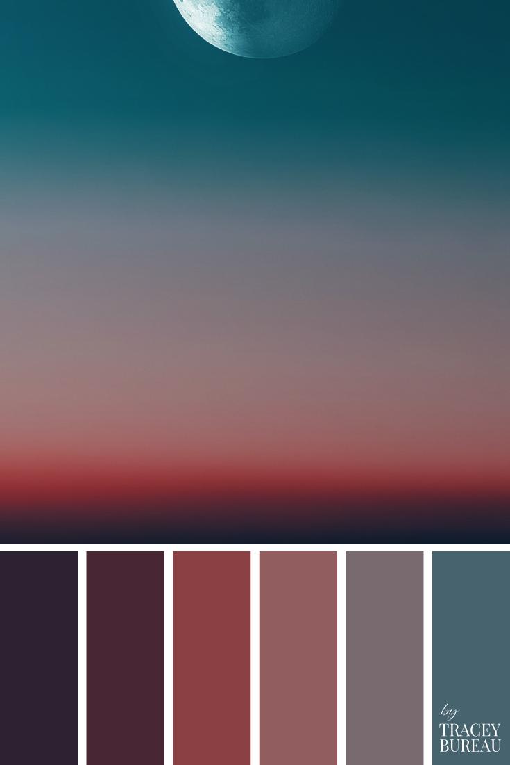 Moon Sky Color Palette Color Palette Inspiration Color