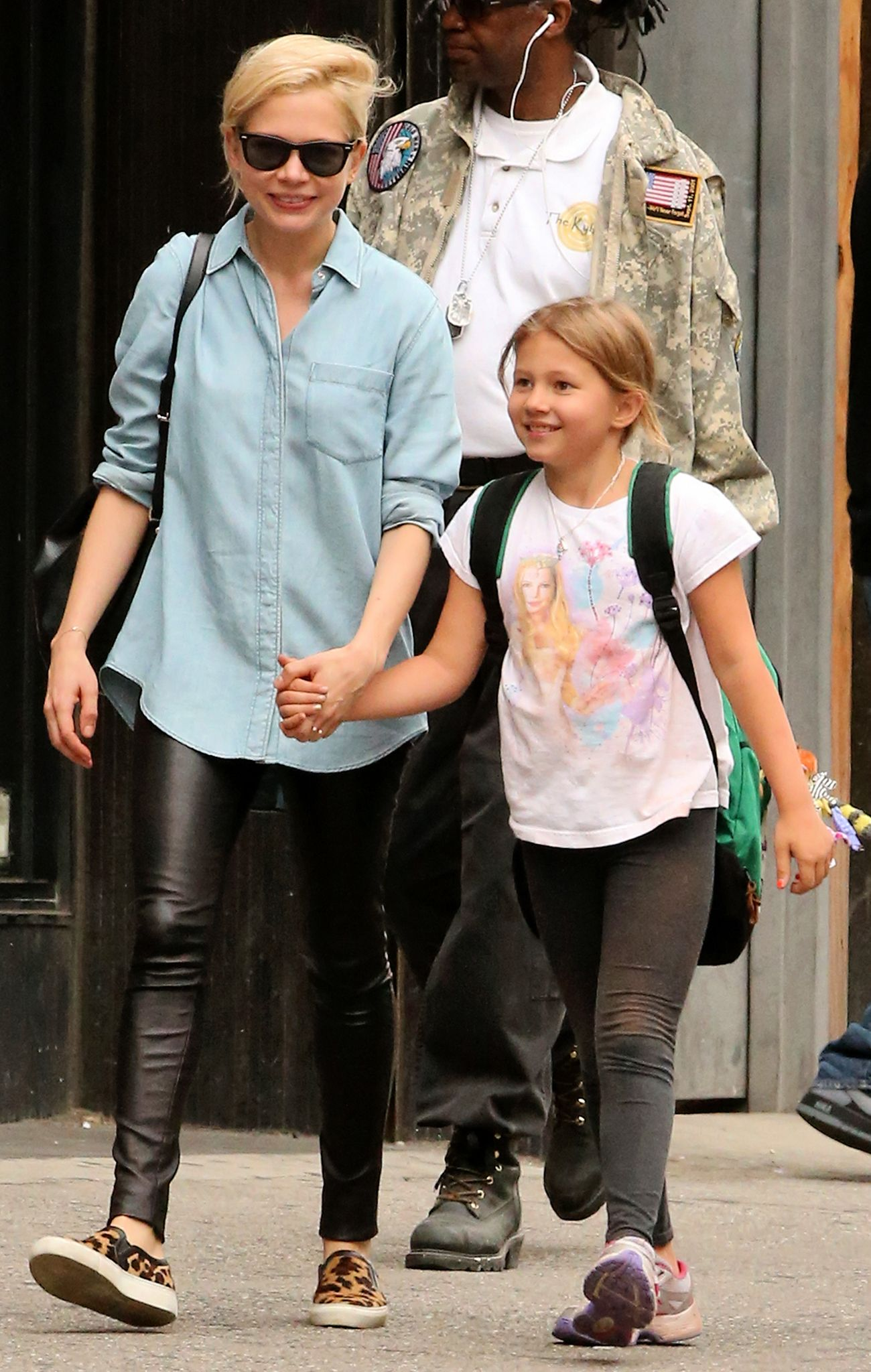 Image result for michelle williams with daughter
