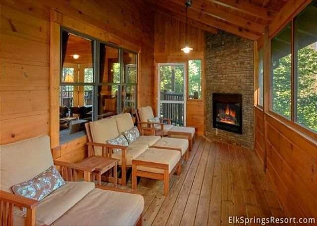 4 Bedroom Cabin With Screened In Porch And Outdoor Fireplace!   TripAdvisor    Gatlinburg Vacation