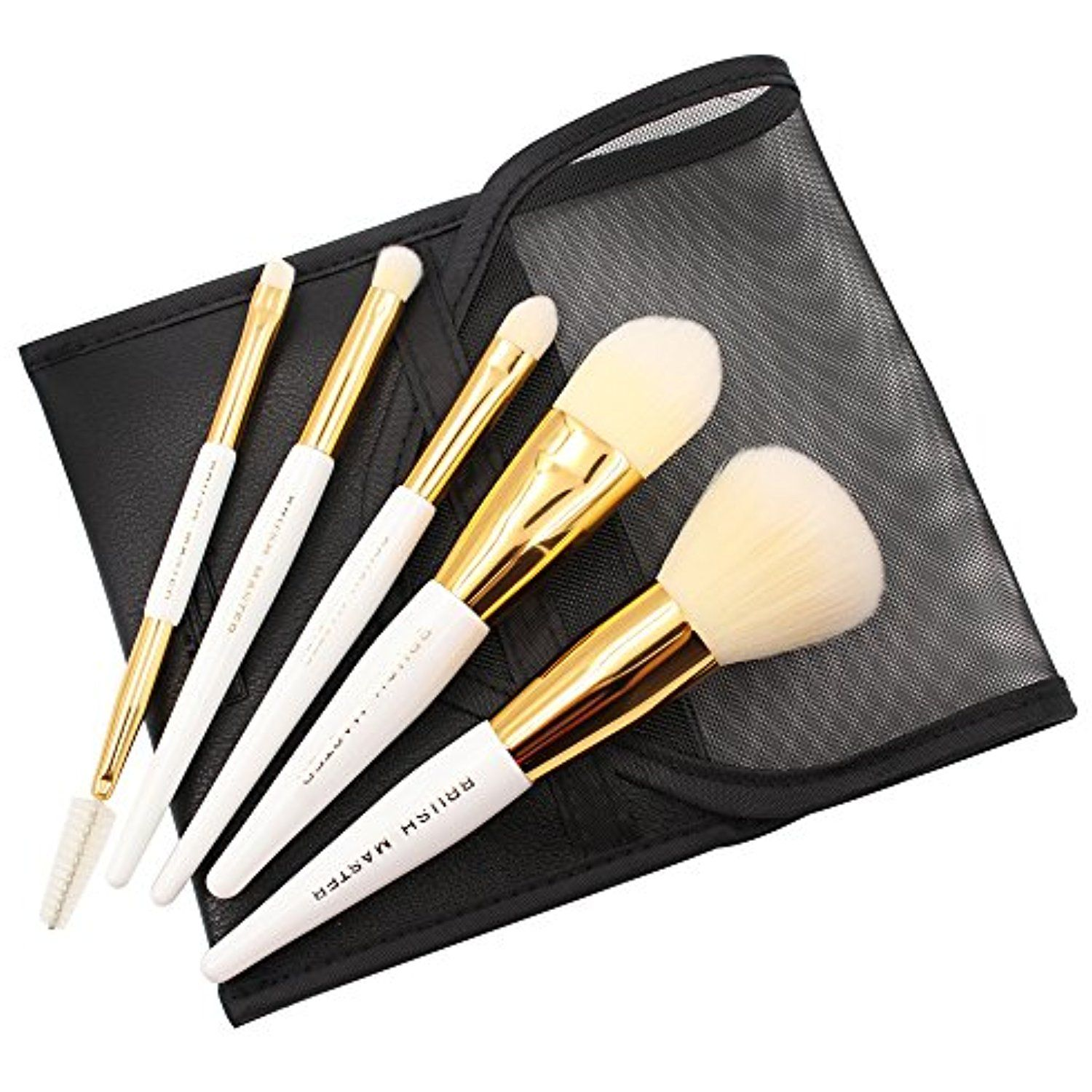 Brush Master 5 Pcs Mini Travel Makeup Brush Set Cosmetic