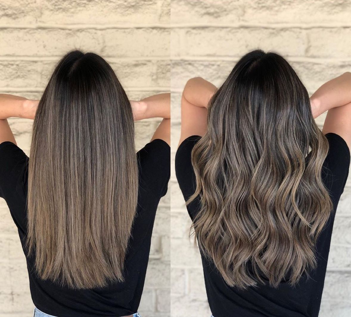 Neutral Ash Hair Color Balayage Hair Ash Hair Color Asian