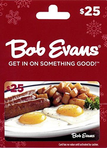 Bob Evans Gift Card Wow I Love This Check It Out Now Cards