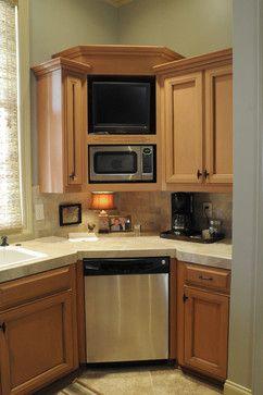 Corner Dishwasher Design Ideas Pictures Remodel And Decor Kitchen Corner Units Corner Sink Kitchen Kitchen Corner Cupboard