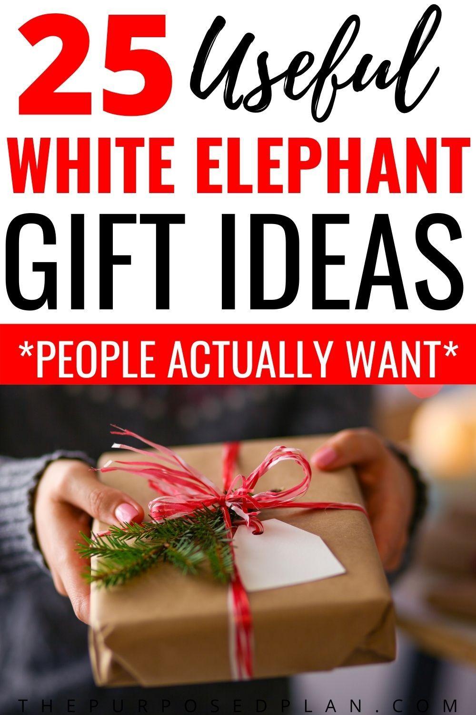 25 Useful White Elephant Gift Ideas -   19 white elephant gift for work ideas