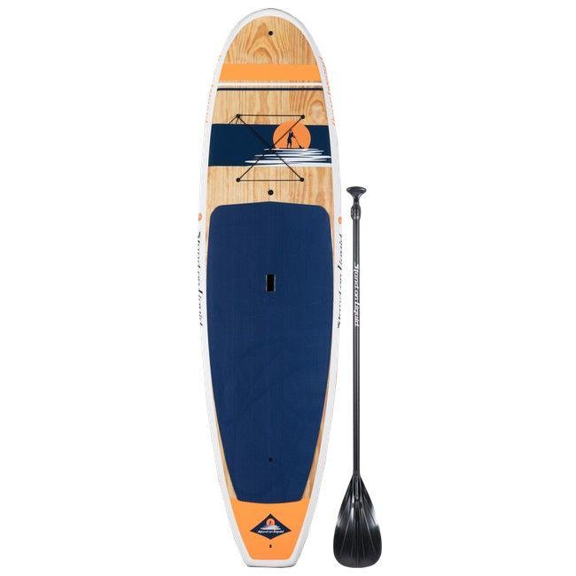 Stand On Liquid Beachwood Hd 10 8 Paddle Board Package Paddle Board Yoga Paddle Boarding Standup Paddle