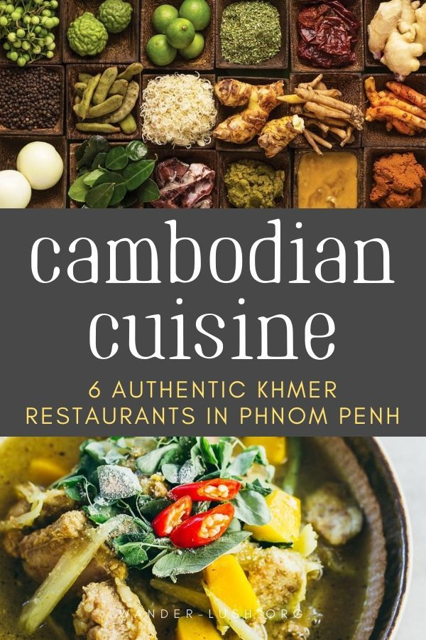 The best Khmer restaurants in Phnom Penh Cambodia. #PhnomPenh #Cambodia #Asia #SoutheastAsia #CambodianFood #style #shopping #styles #outfit #pretty #girl #girls #beauty #beautiful #me #cute #stylish #photooftheday #swag #dress #shoes #diy #design #fashion #Travel