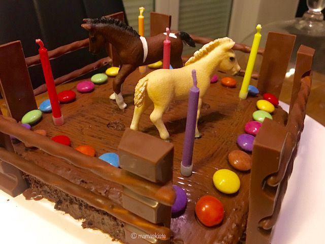 Ein saftiger Pferdekuchen zum Kindergeburtstag | Pinterest ...