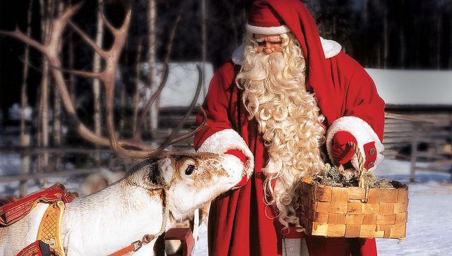 Cuando La Navidad Llega A Laponia La Tierra De Santa Claus Viajes 101lugaresincreibles Laponia Polo Norte Papa Noel