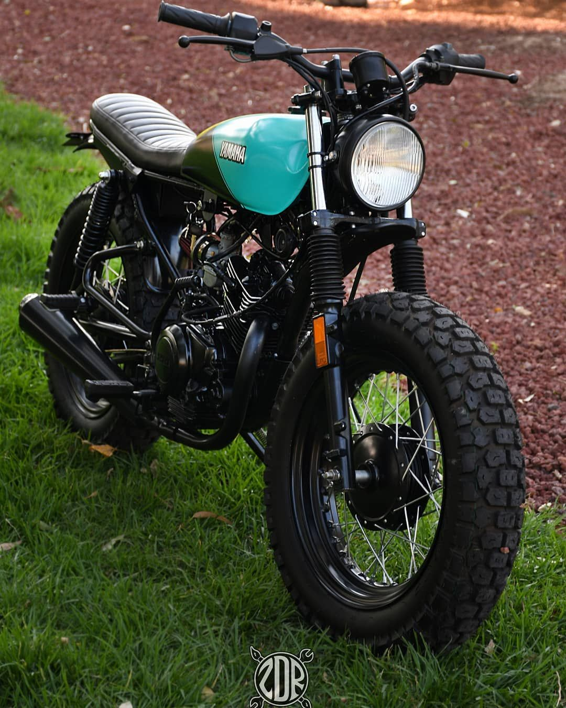 Realizada Para Su Uso Diario Y Confiabilidad Les Ofrecemos Este Gran Proyecto A Un Super Precio Yamaha Ybr 125 Scramble Cafe Bike Motorcycle Cafe Racer