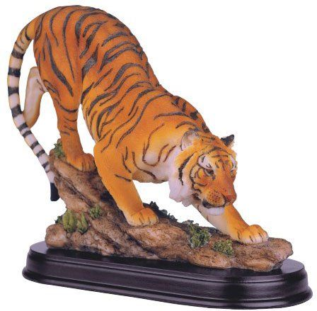 Amazon.com: Bengal Tiger Collectible Wild Cat Animal Decoration Figurine Statue: Home & Kitchen