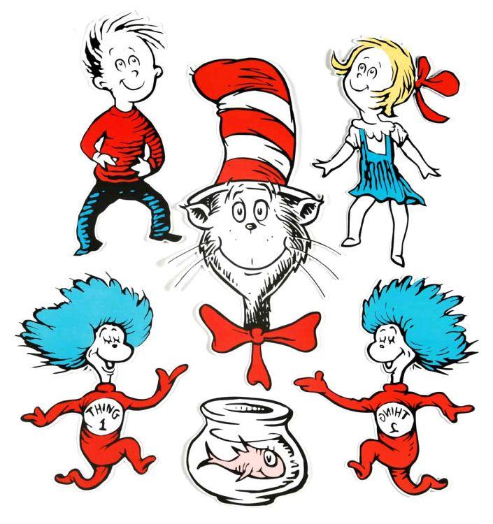 ... seuss characters dr seuss includes dr seuss characters decorations hat