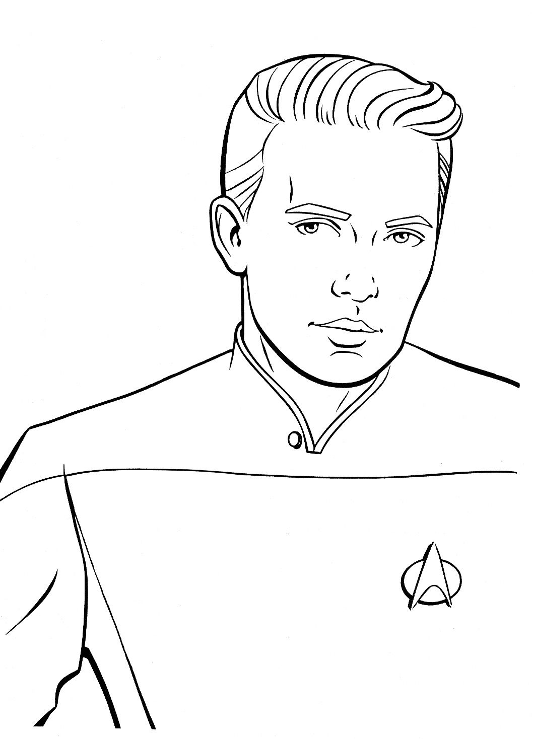 The Best Scenes From Insane Old Star Trek Coloring Books Star