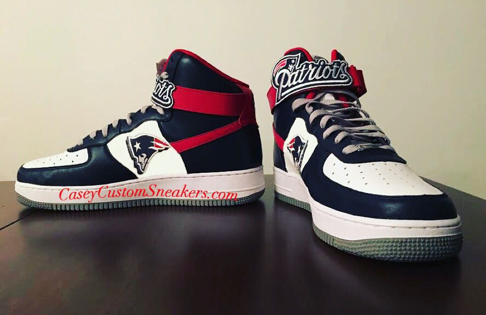 New England Patriots custom Nike AF1