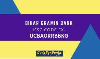 Example Of Ifsc Code Of Bihar Gramin Bank Coding Bank Code Bank Branch