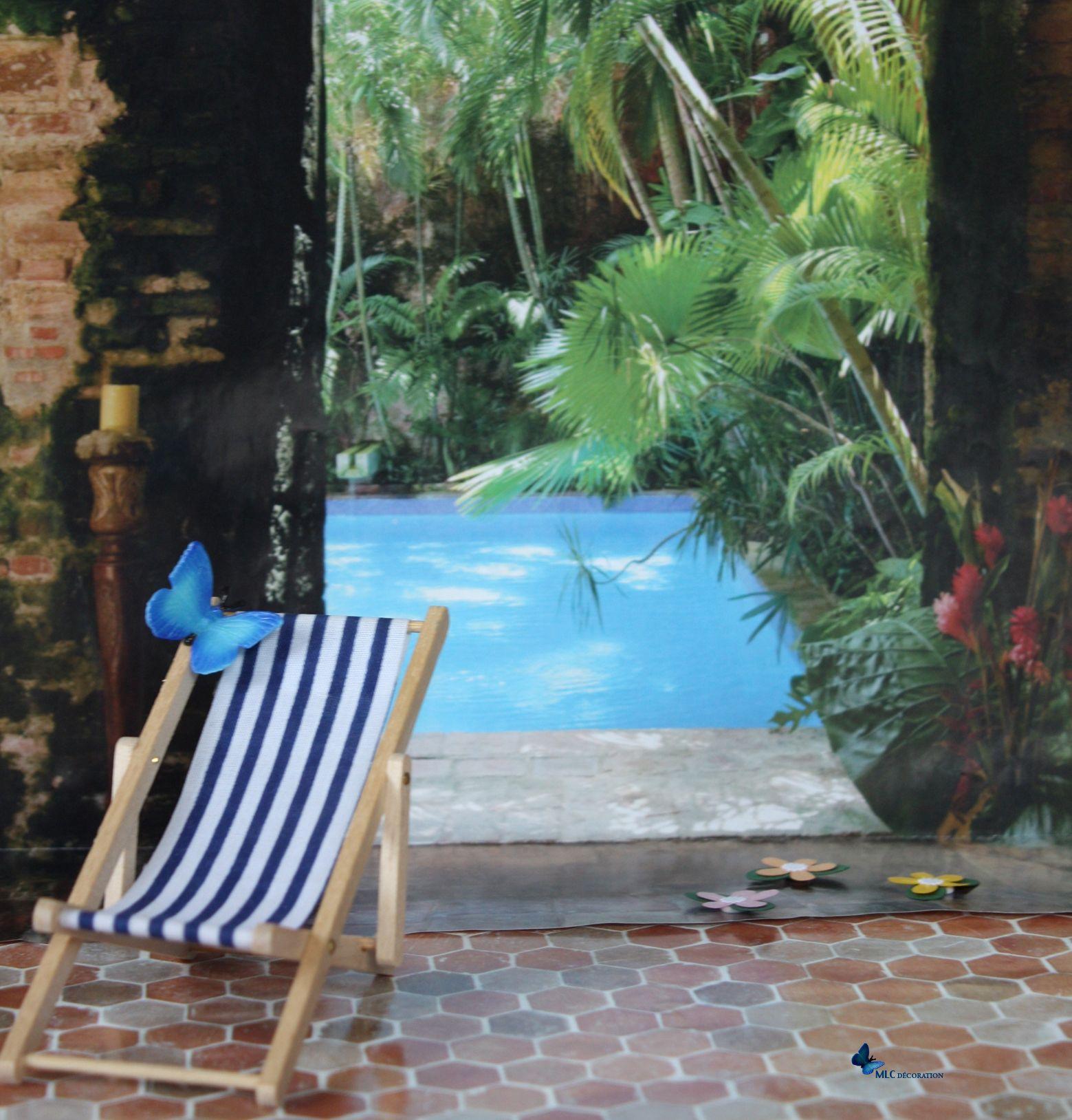 transat et papillon piscine composition mlc le blog deco de mlc transat pour jardin. Black Bedroom Furniture Sets. Home Design Ideas