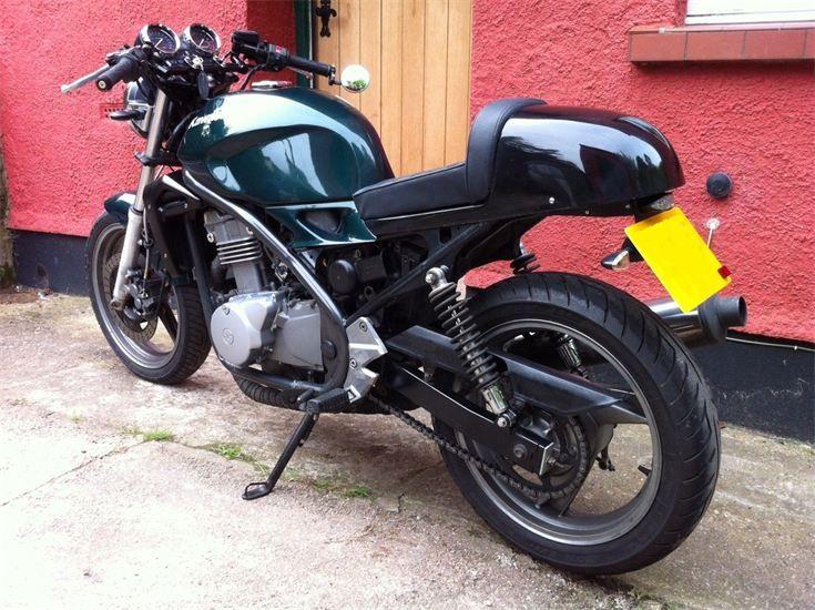 Kawasaki Er5 Custom Tail Bikes Motorbikes Custom Bikes Bike
