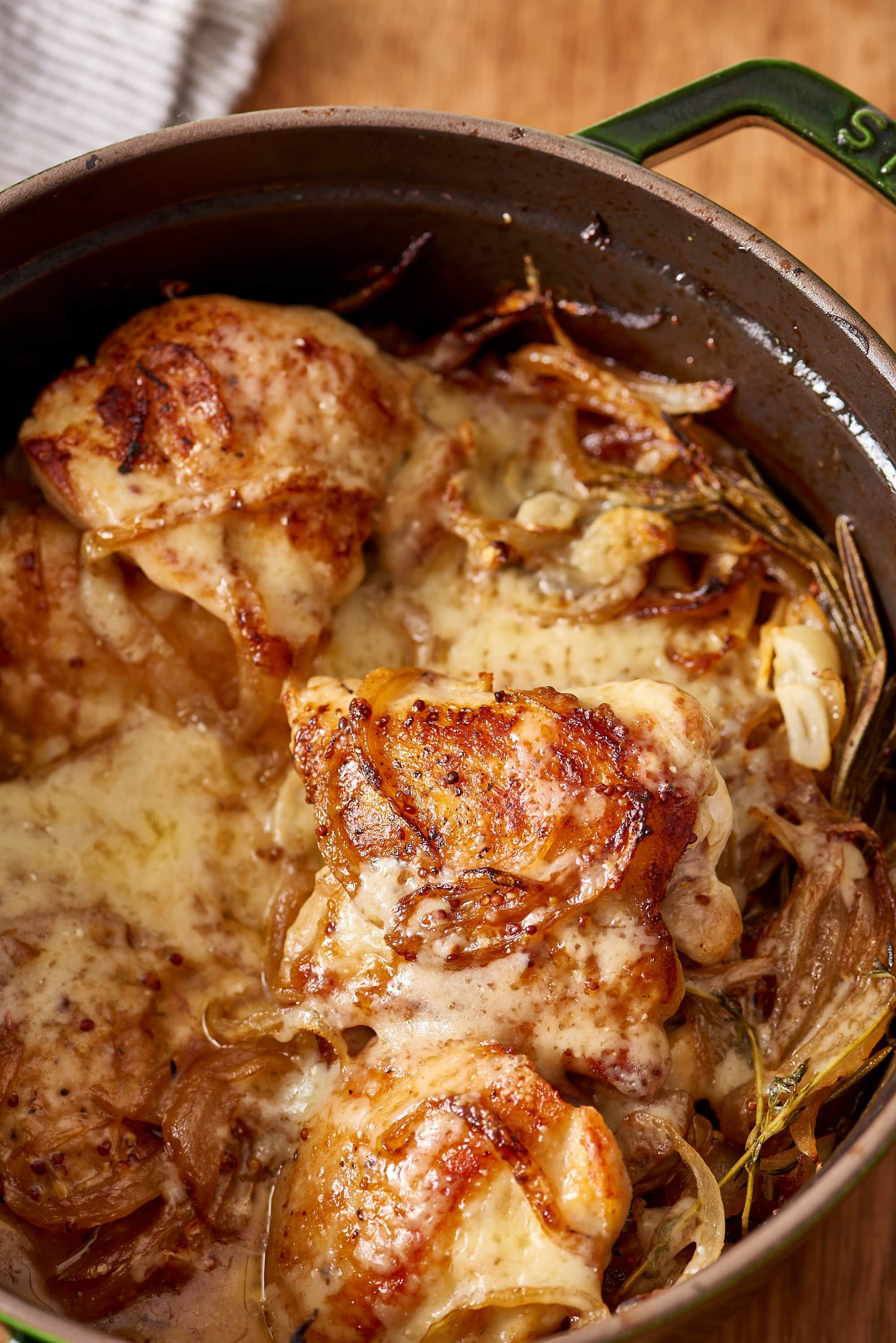 Braised French Onion Chicken With Gruyere Recipe French Onion