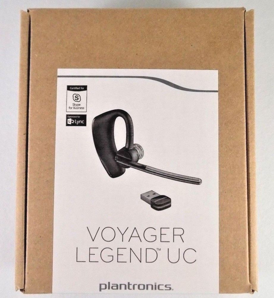 New Plantronics Voyager Legend Uc Wireless Usb Bluetooth Ear Hook Headset B235 M Plantronics Plantronics Headset Voyage