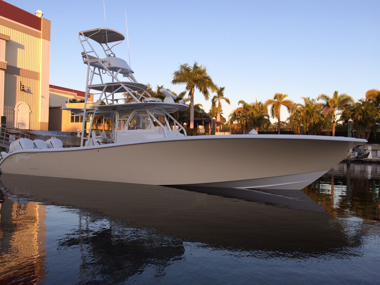 2015 YELLOWFIN 42 with full tower The Hull Truth