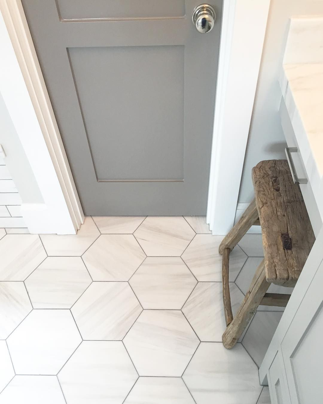Grey Bathroom Tile Grey Bathroom Ideas Greybathroom Tile Ideas Tags Grey Bathroom Paint Grey Bathroom Ca Flooring House Bathroom Hexagon Tile Bathroom