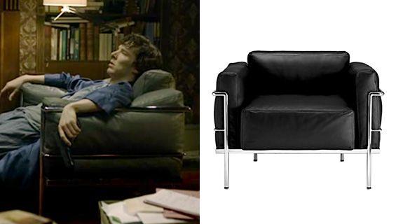Le Corbusier Lc3 Armchair Sherlock S Favorite Chair No Wonder Chair Furniture Armchair
