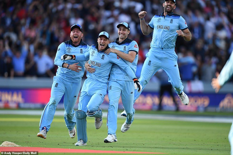 England Win First Ever Cricket World Cup England Cricket Team Cricket World Cup World Cup Champions