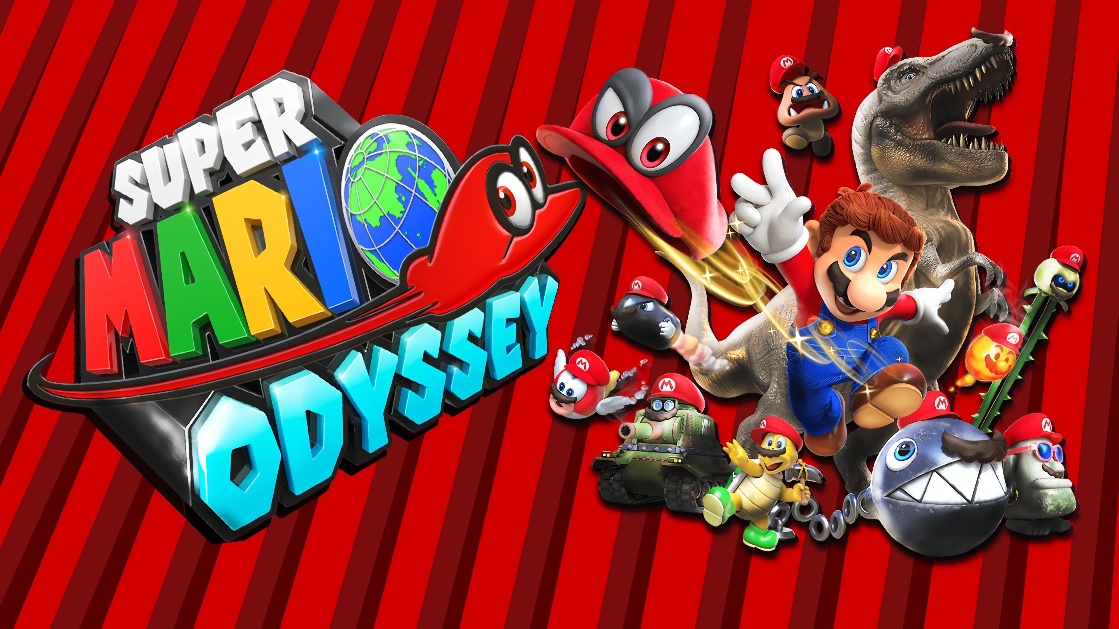 4k Super Mario Odyssey Posters Desktop And Mobile Super Mario Mario Poster