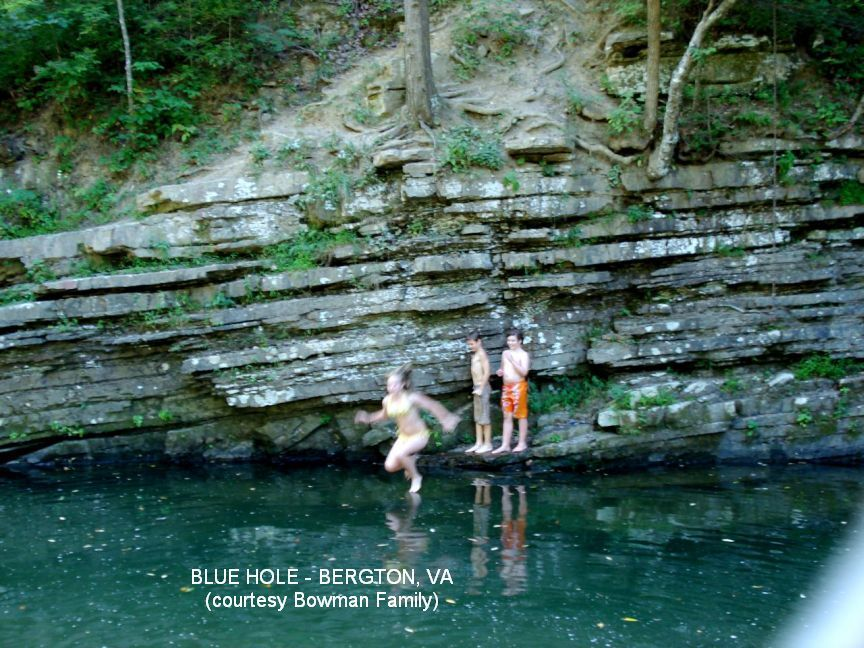 Blue Hole In George Washington National Forrest Favorite