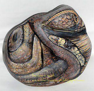 cobra-profilo destro.. © Copyright Barbara Santi