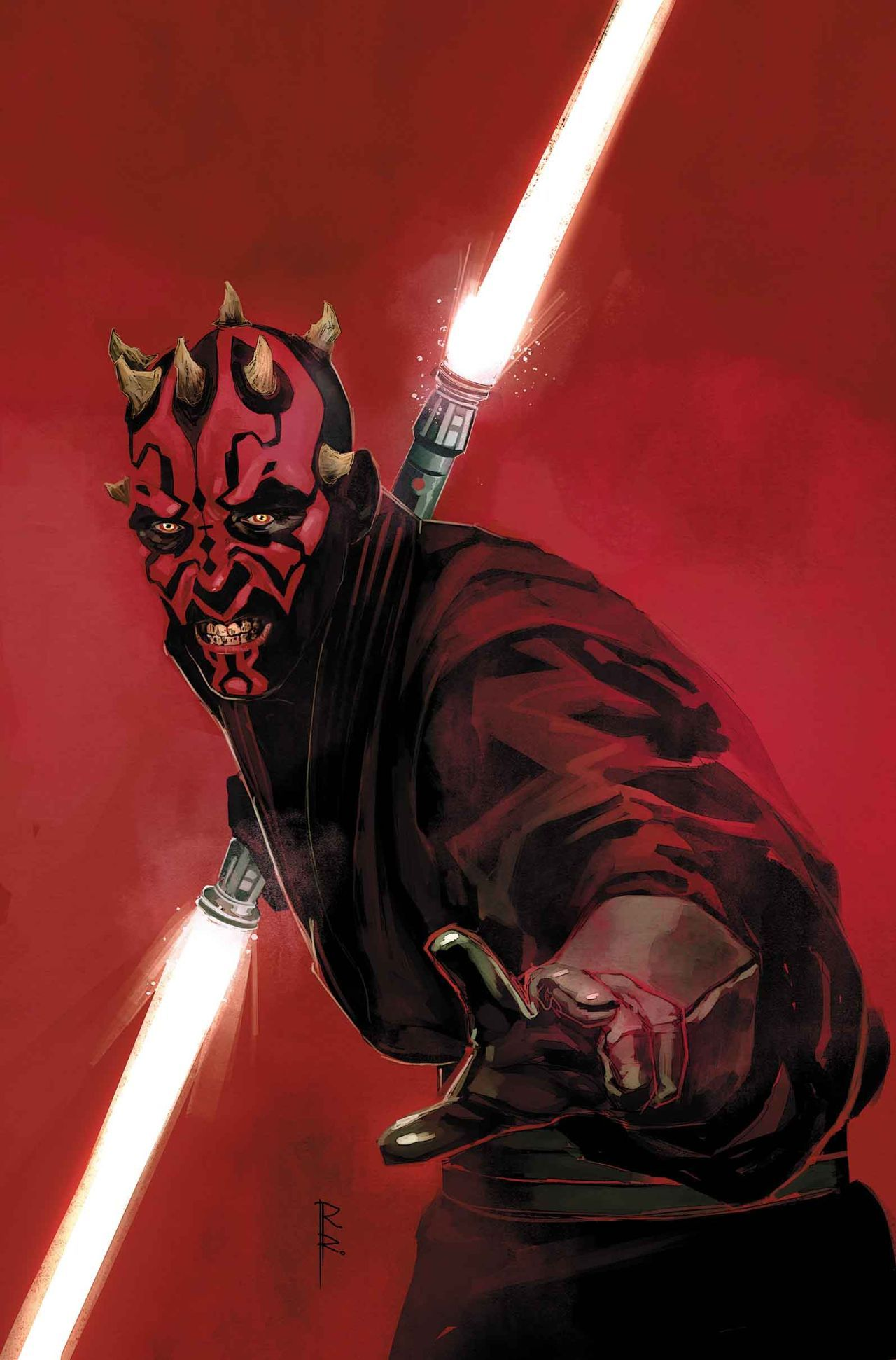 Darth Maul Comic Book Cover Star Wars Wallpaper Star Wars Art Darth Maul Wallpaper