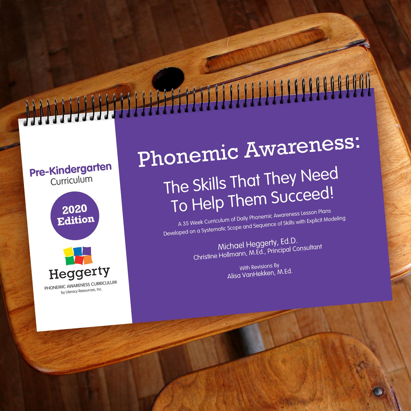 English Pre K Phonemic Awareness Curriculum