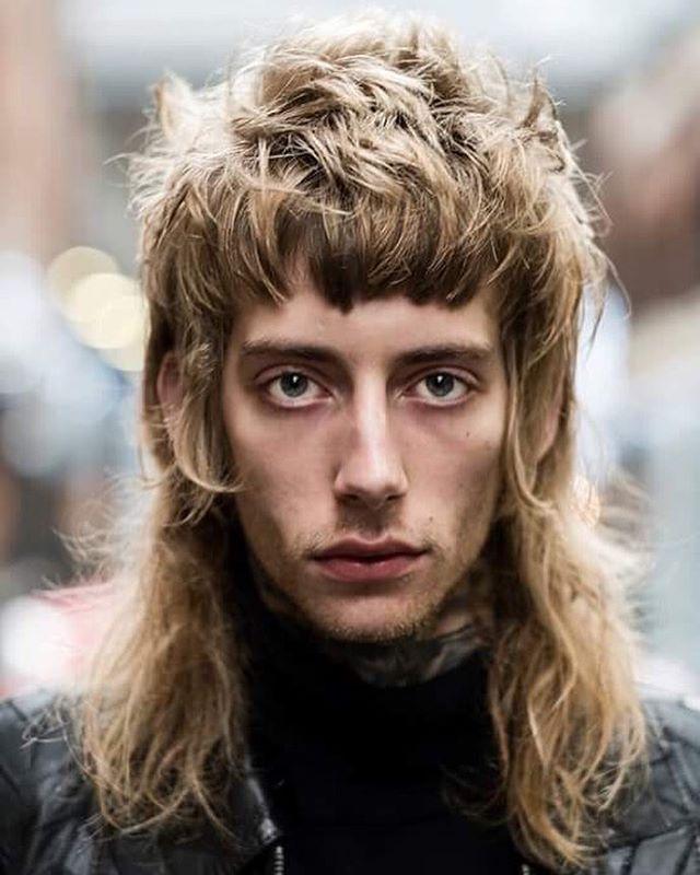 70s rock banging haircut men