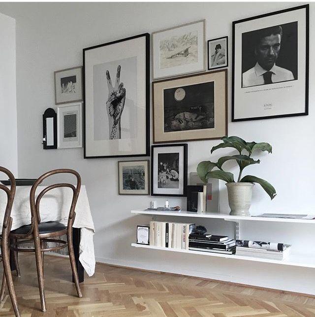 Gallery wall inspiration casa pinterest wohnzimmer wohnung esszimmer and wohnzimmer ideen - Wandschmuck wohnzimmer ...